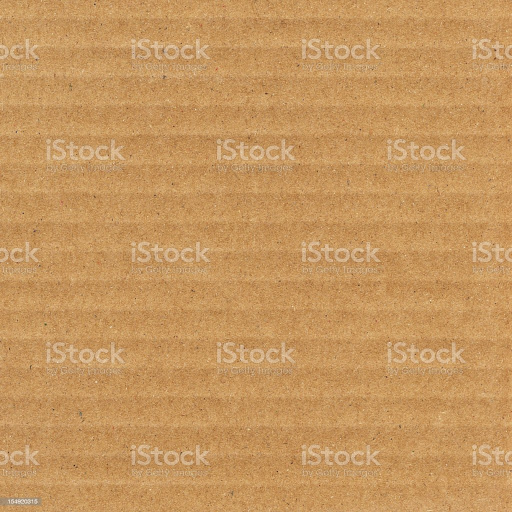 High Resolution Cardboard Corrugated Grunge Texture stock photo