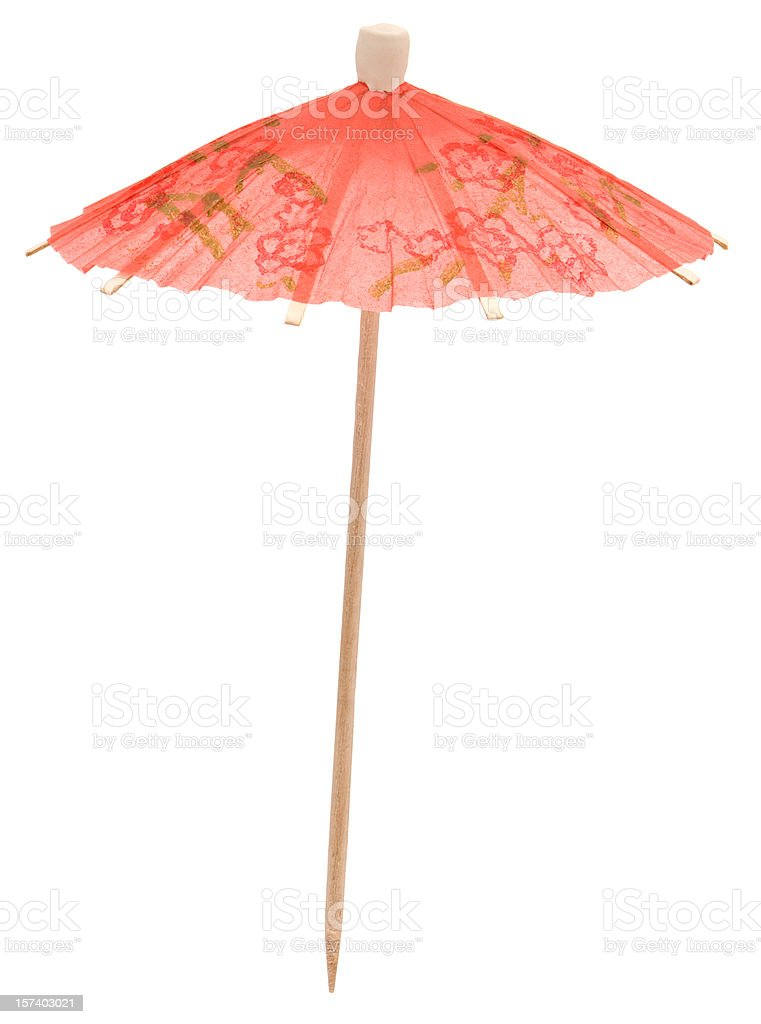 High Resolution Cocktail Umbrella stock photo