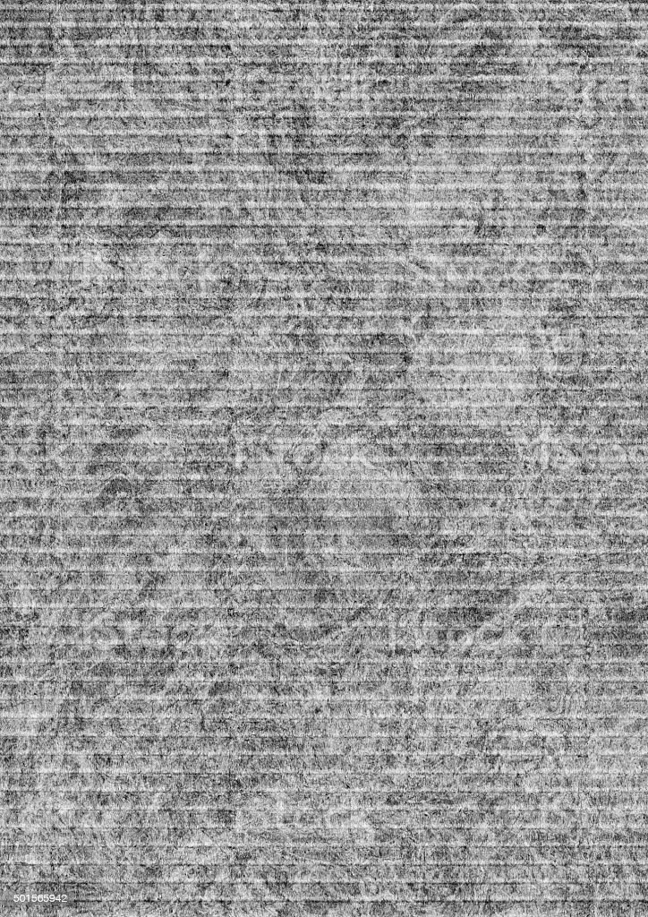 High Resolution Corrugated Cardboard Mottled Gray Grunge Texture stock photo