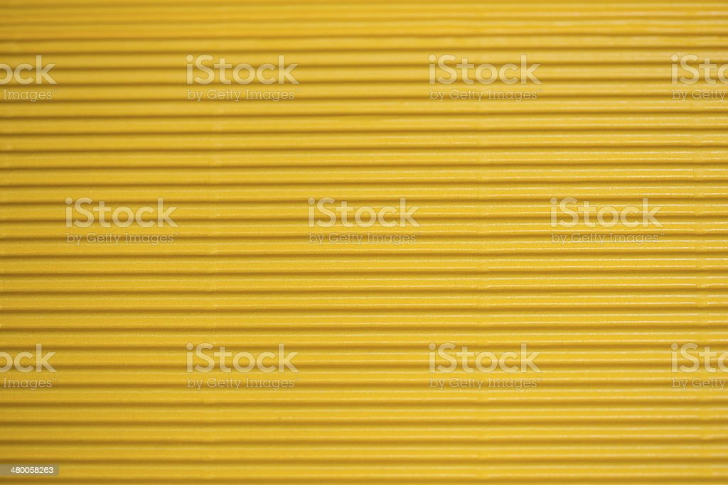High resolution Corrugated  cardboard yellow Background royalty-free stock photo