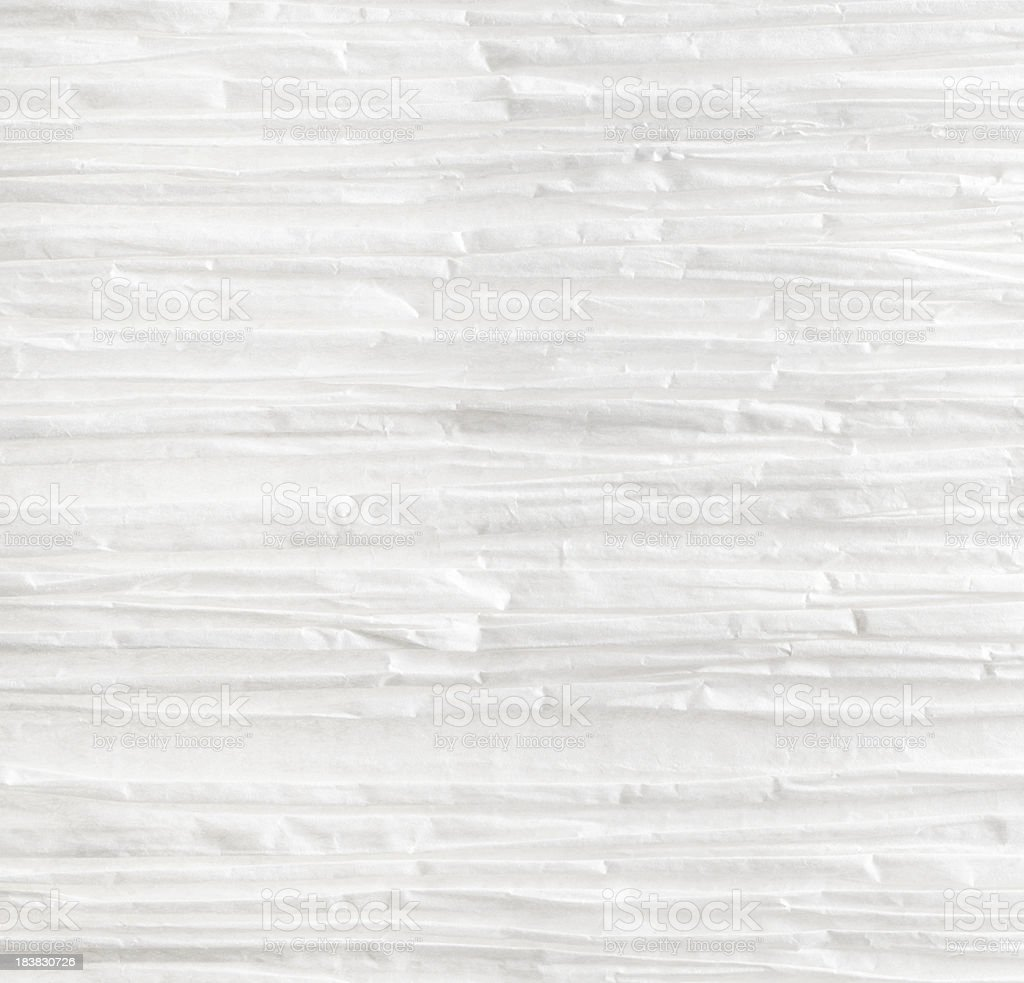 High Resolution Crinkled Paper - XXXL stock photo