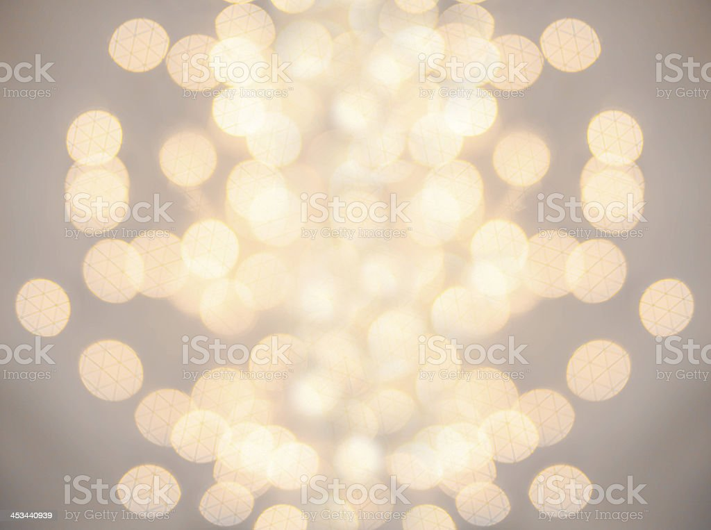 High resolution Defocused Bokeh light Vintage background.  Chris royalty-free stock photo