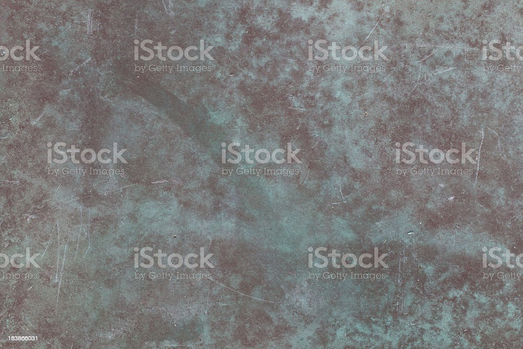 high resolution distressed copper metal surface royalty-free stock photo