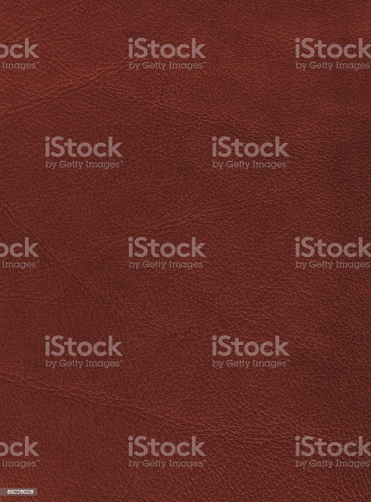 High resolution distressed leather (red) royalty-free stock photo