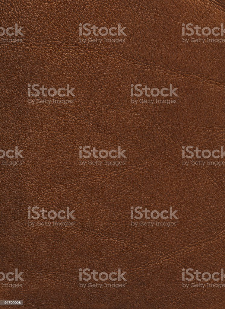 High resolution distressed leather (brown) stock photo