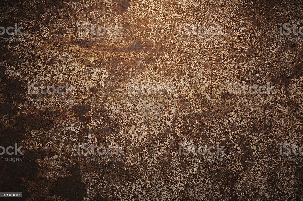 High resolution distressed rust surface royalty-free stock photo