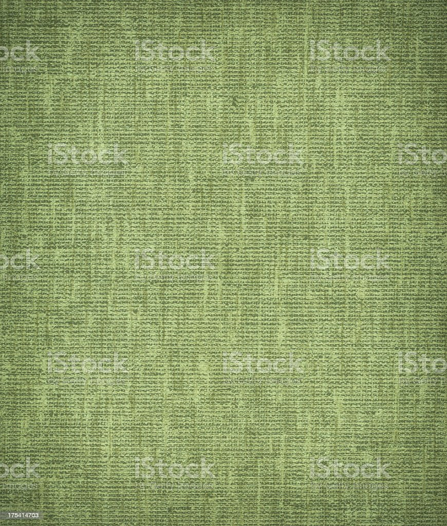 High resolution green  canvas texture royalty-free stock photo