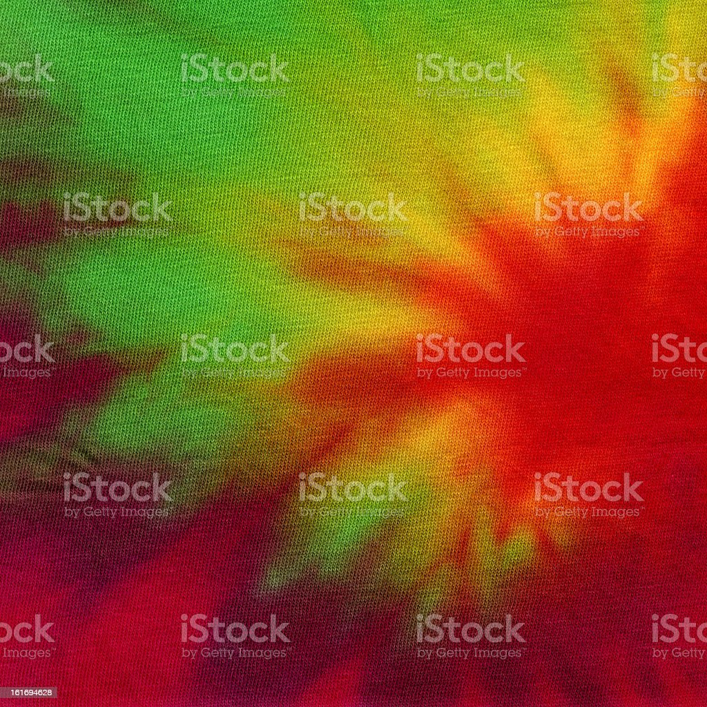 High Resolution Handmade Tie Dye Fabric for Texture and Backgrounds royalty-free stock photo