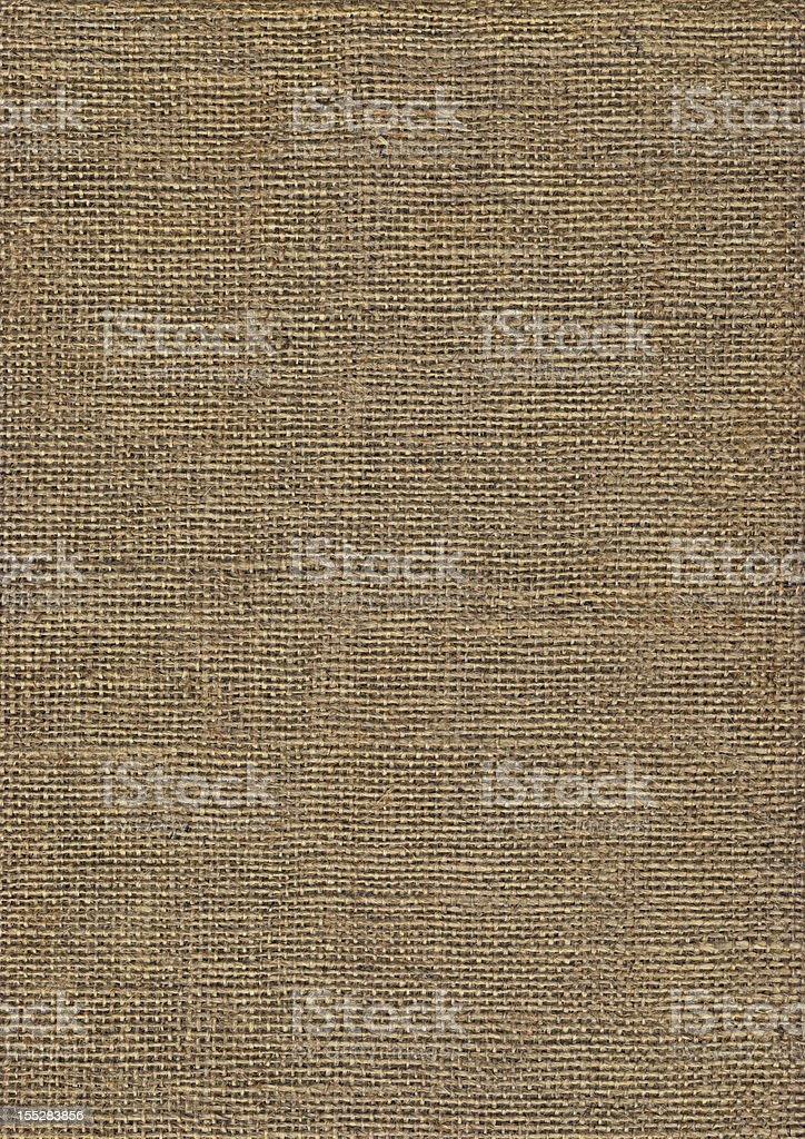 High Resolution Jute Canvas Coarse Grain Grunge Texture stock photo