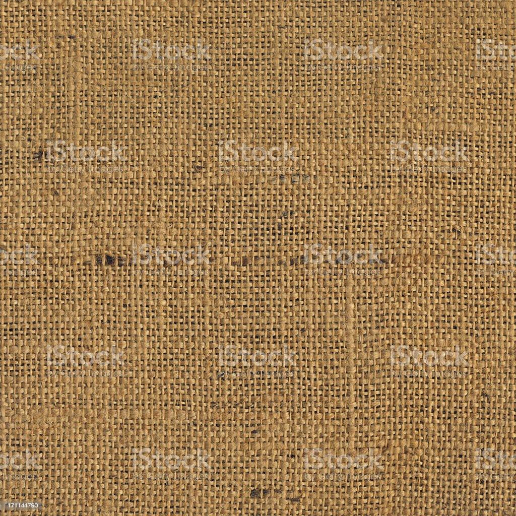 High Resolution Jute Coarse Grain Grunge Texture royalty-free stock photo