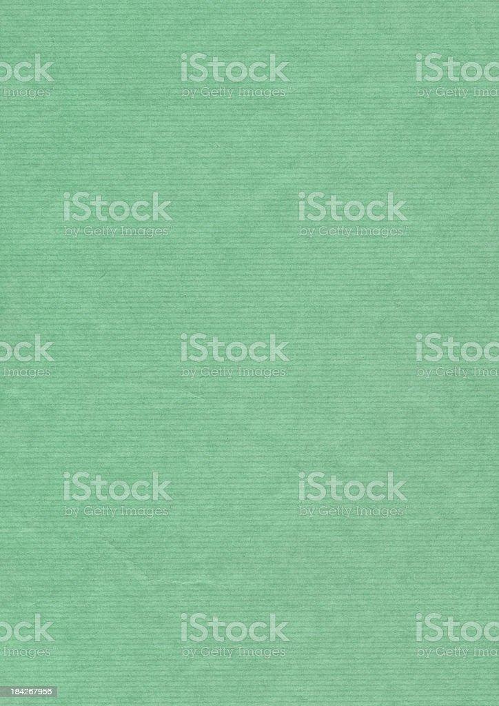 High Resolution Kelly Green Striped Kraft Paper Grunge Texture stock photo
