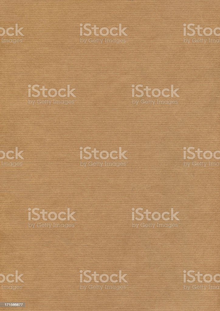 High Resolution Kraft Brown Paper Texture royalty-free stock photo