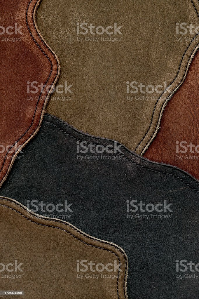High resolution leather royalty-free stock photo
