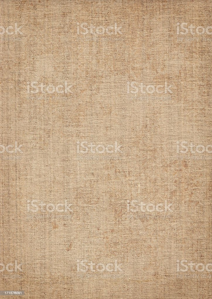 High resolution light grunge canvas texture for backgrounds royalty-free stock photo