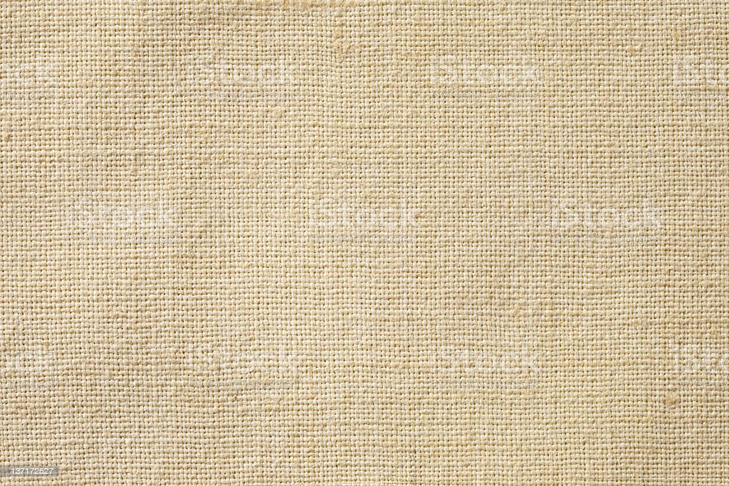 High resolution linen canvas texture background royalty-free stock photo