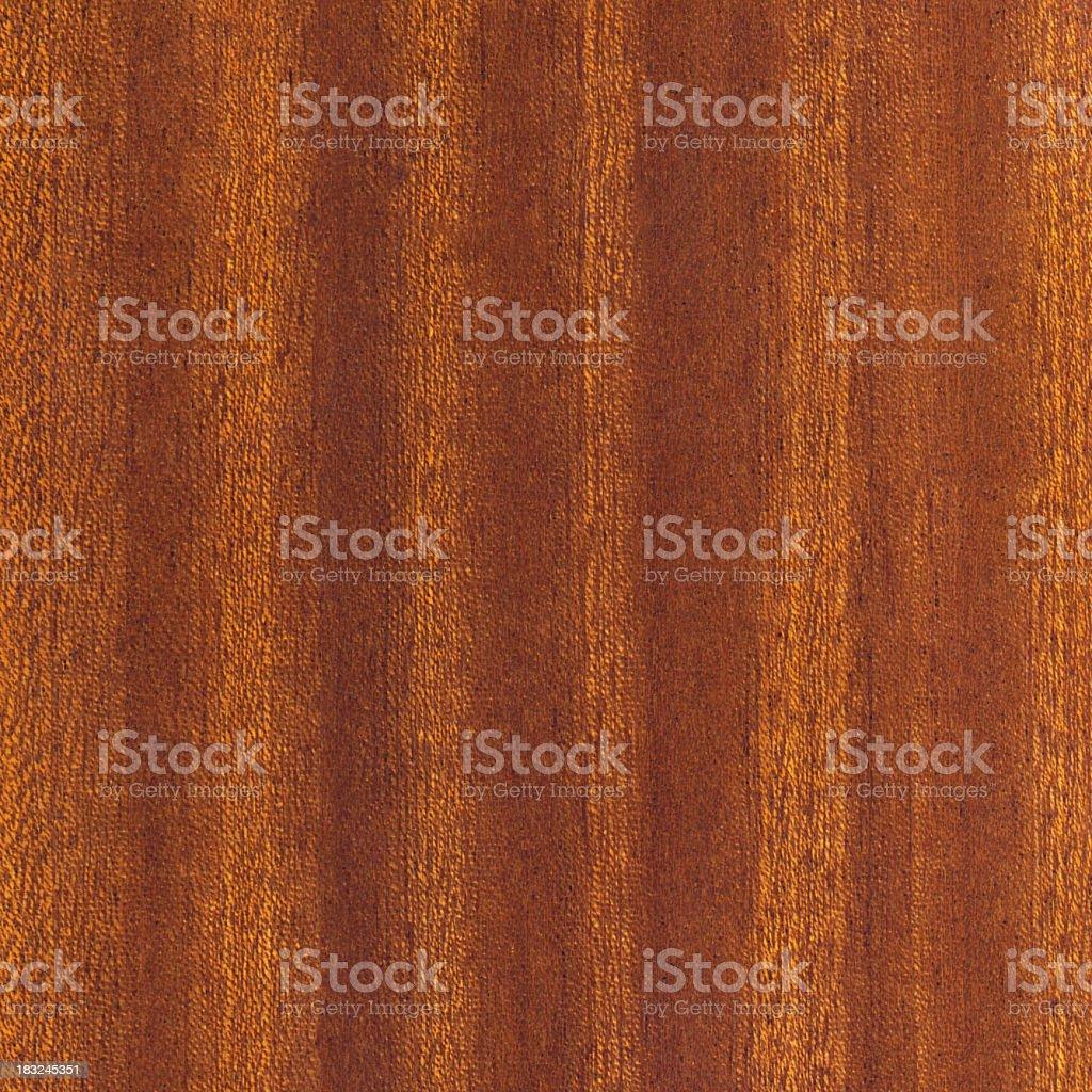 High Resolution Mahogany Wood Veneer Texture Sample stock photo