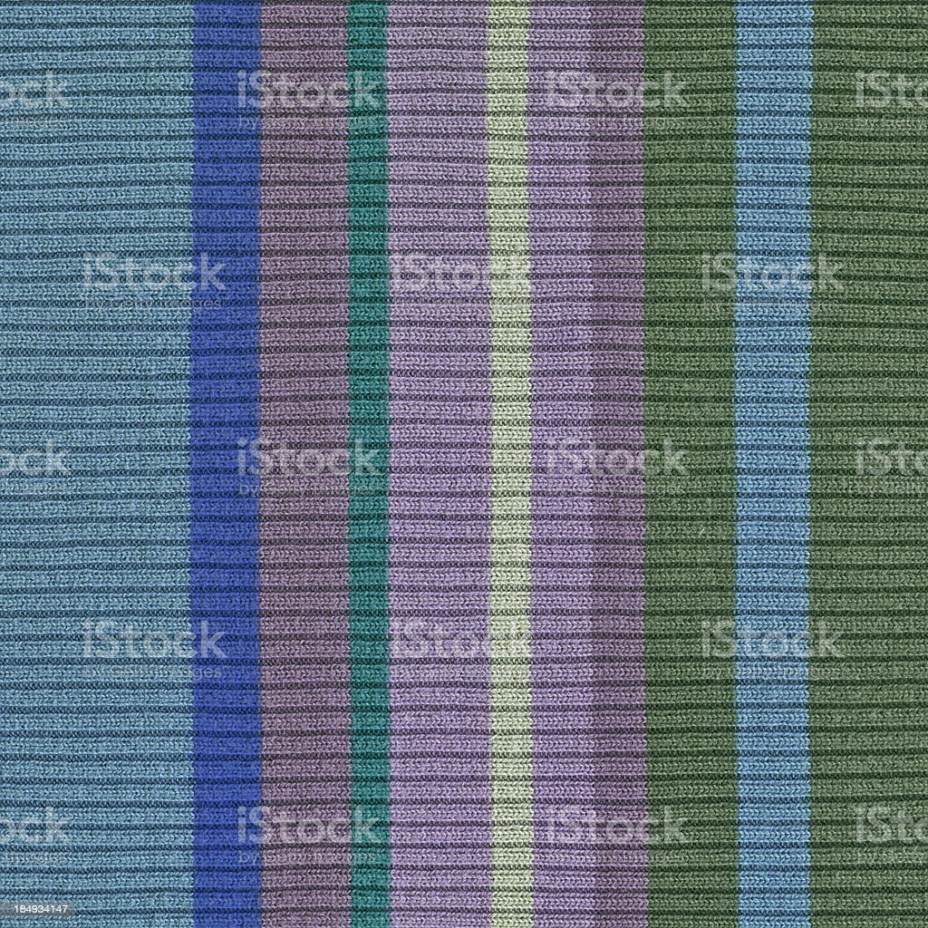 High Resolution Multicolored Knitted Cotton-Lycra Ribbed Fabric Texture stock photo
