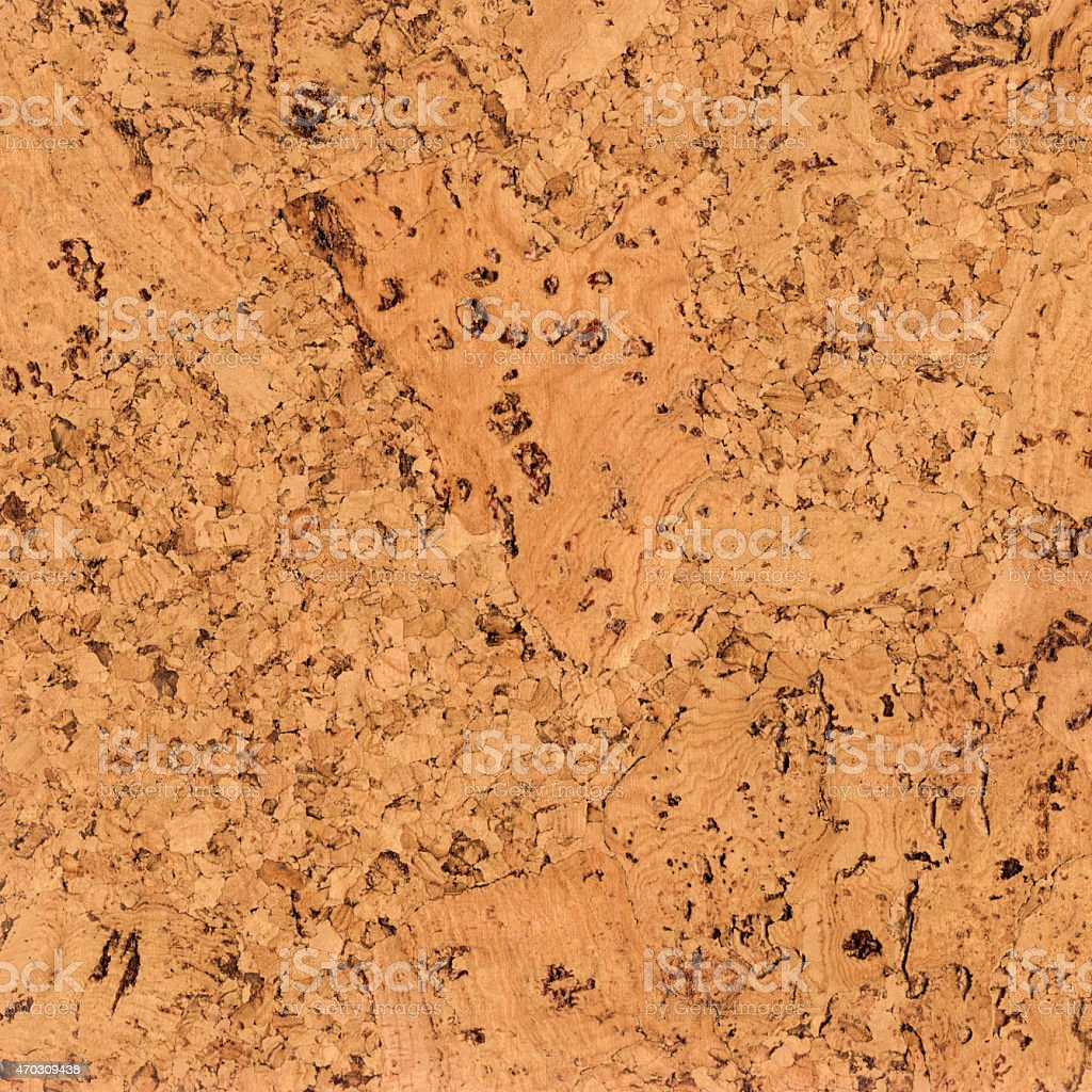 High Resolution Natural Brown Cork Wall Tile Grunge Texture stock photo
