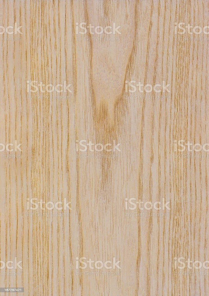 High Resolution Natural White Pine Wood Veneer Texture Sample royalty-free stock photo