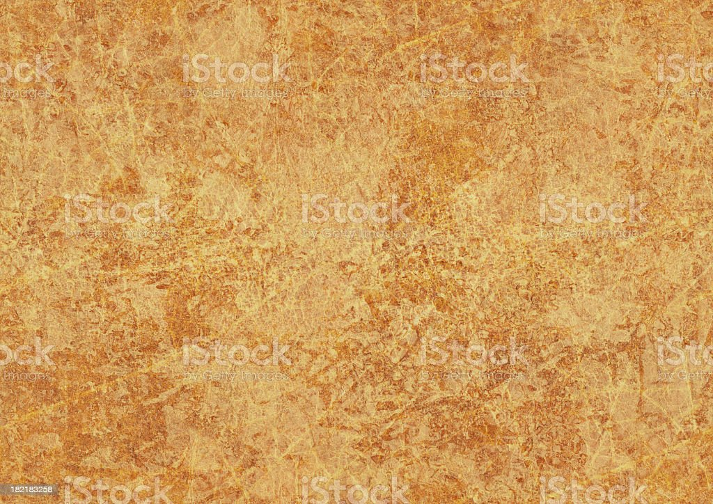 High resolution old orange parchment paper background stock photo