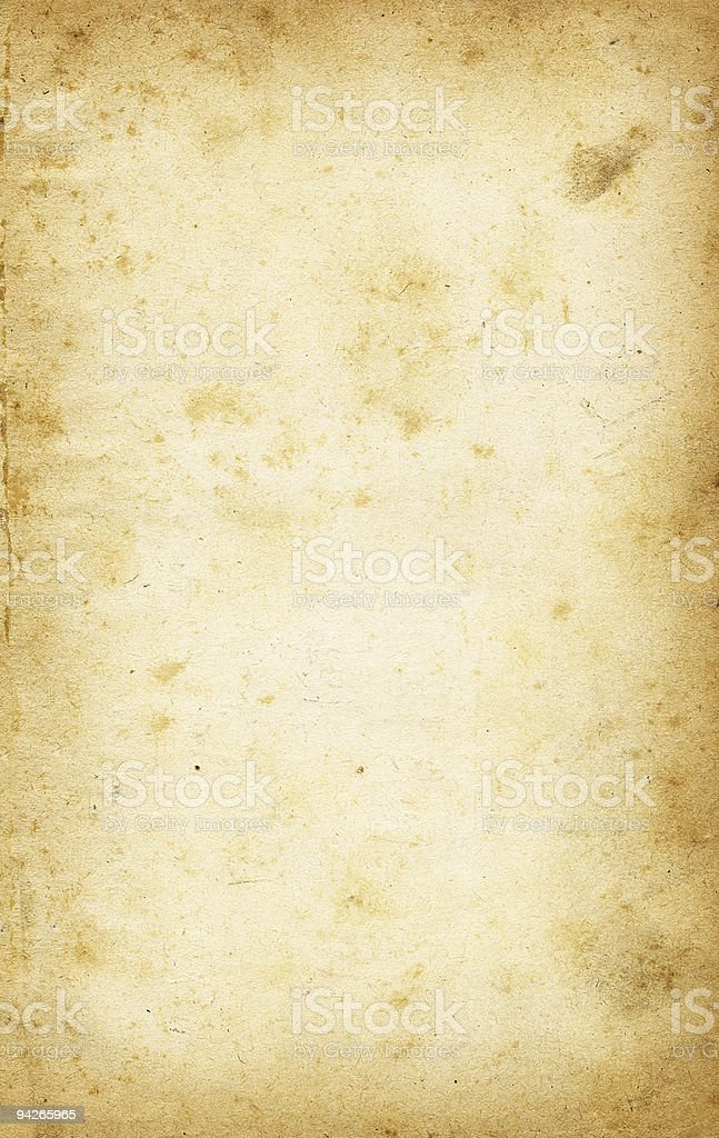High resolution old paper royalty-free stock photo