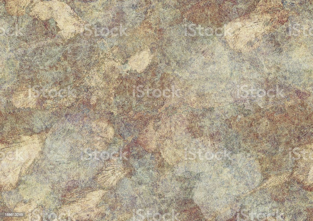 High Resolution Old Paper Vellum Seamless Grunge Texture stock photo
