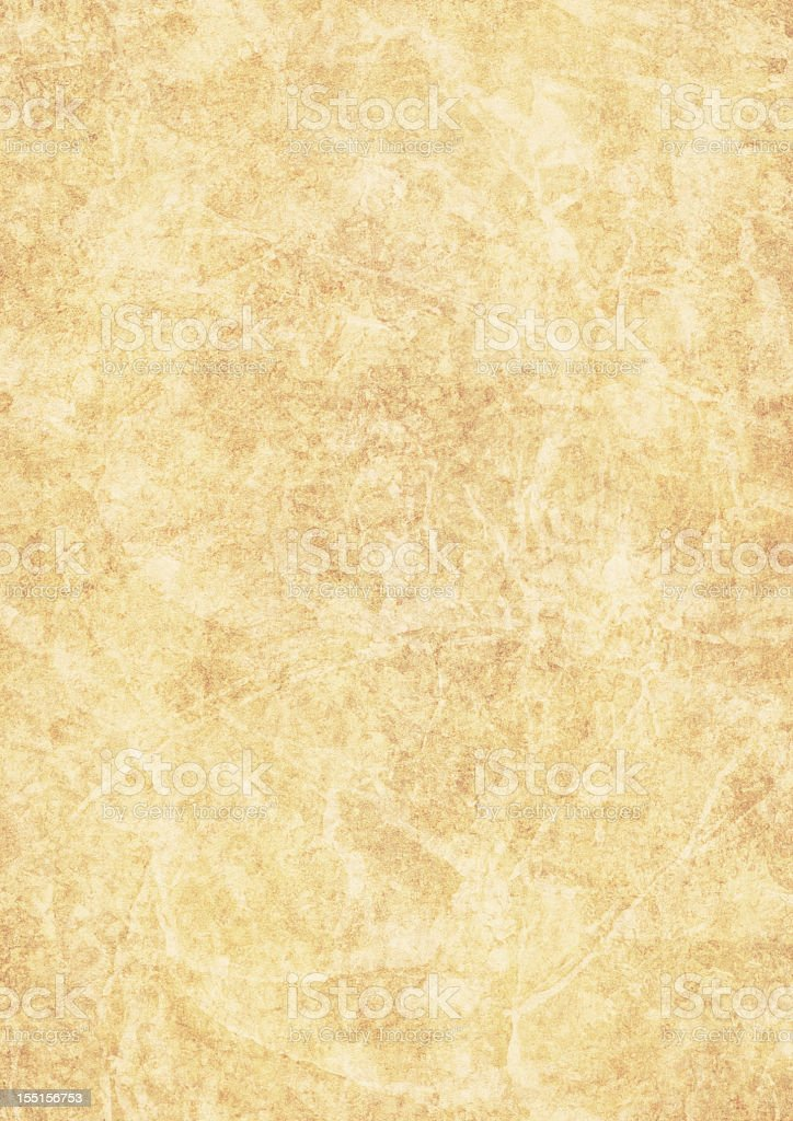 High Resolution Parchment Grunge Texture royalty-free stock photo