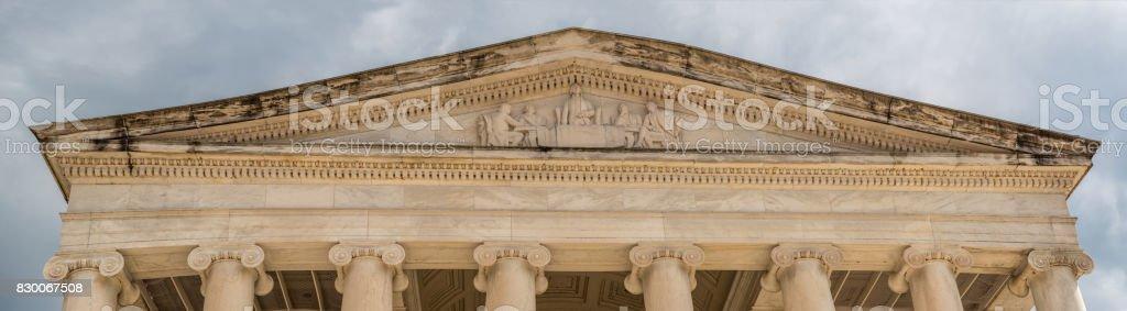High Resolution Photo of Washington Monument Ceiling stock photo