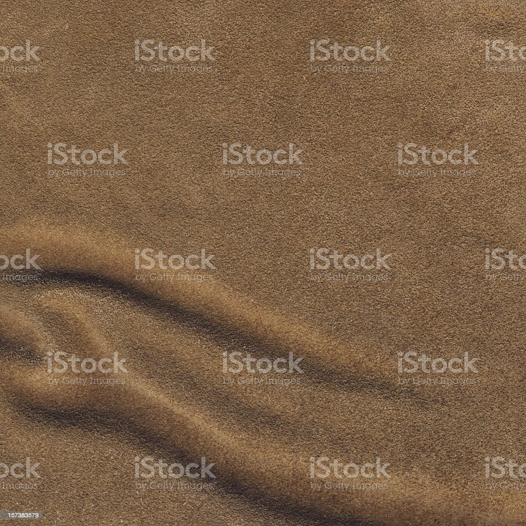 High Resolution Pig Brown Wrinkled Suede Texture Sample stock photo