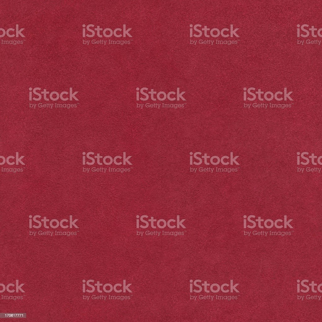 High Resolution Pig Red Suede Seamless Tile royalty-free stock photo