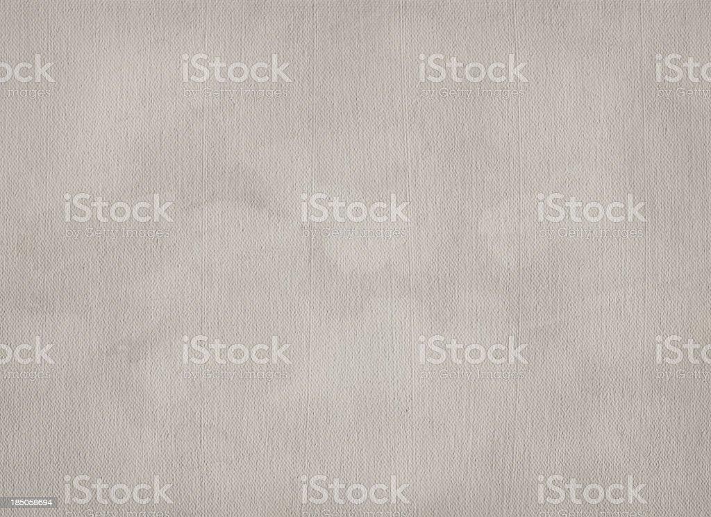 High Resolution Primed Artist's Cotton Canvas Mottled Vignette Grunge Texture stock photo