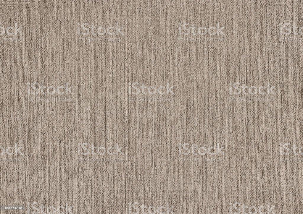 High Resolution Primed Artist's Linen Duck Canvas Grunge Texture royalty-free stock photo