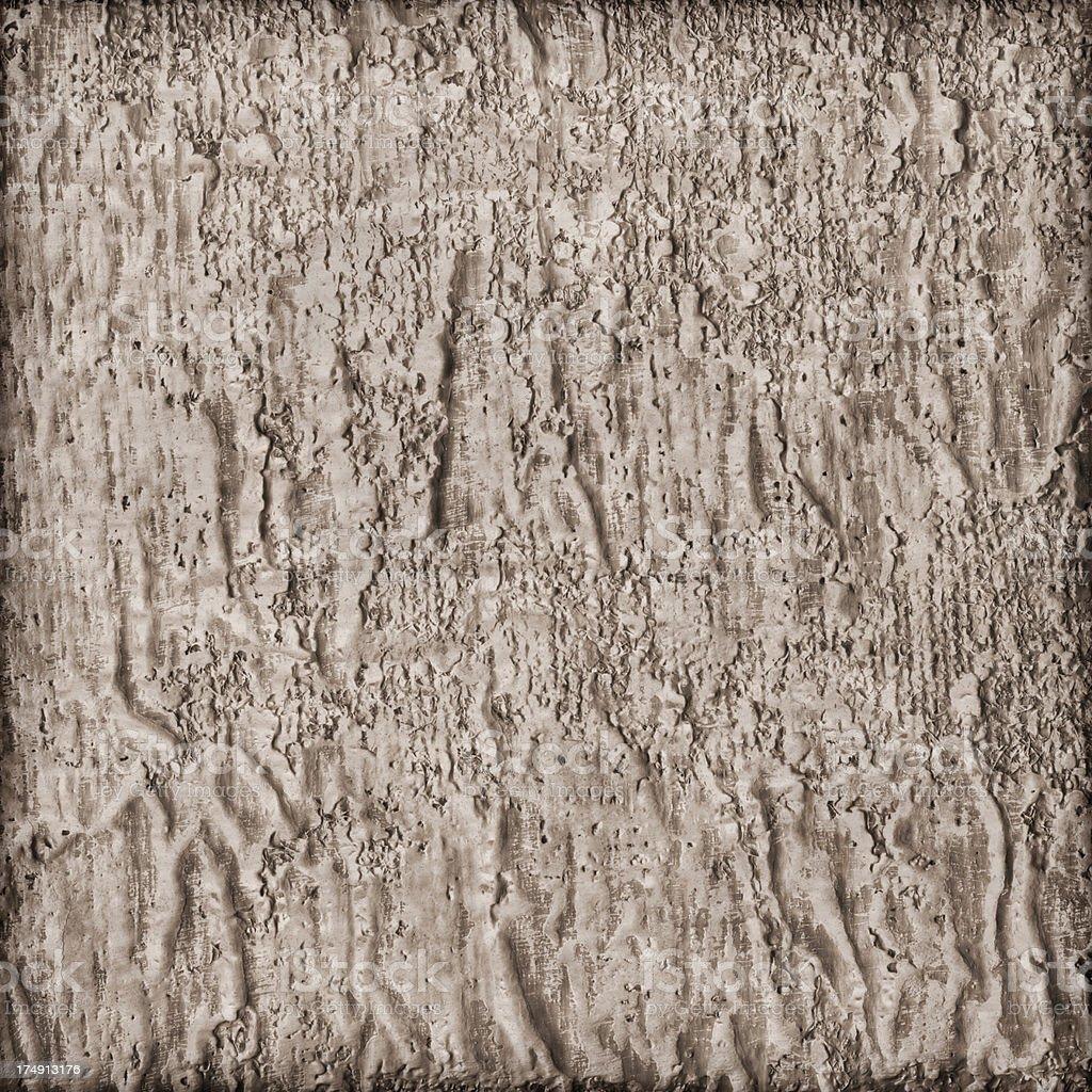 High Resolution Primed Jute Canvas Coarse Crumpled Vignette Grunge Texture stock photo