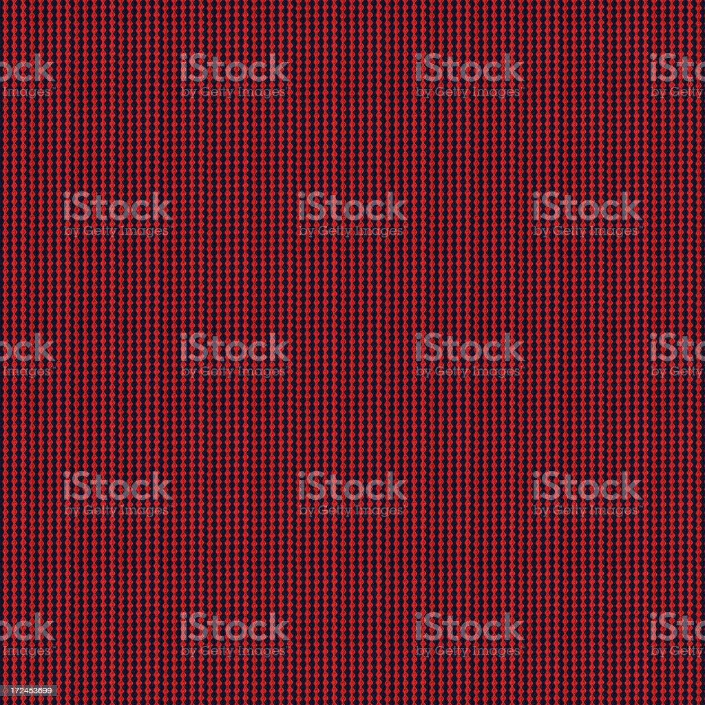 High Resolution Red Blue Striped Textile royalty-free stock photo