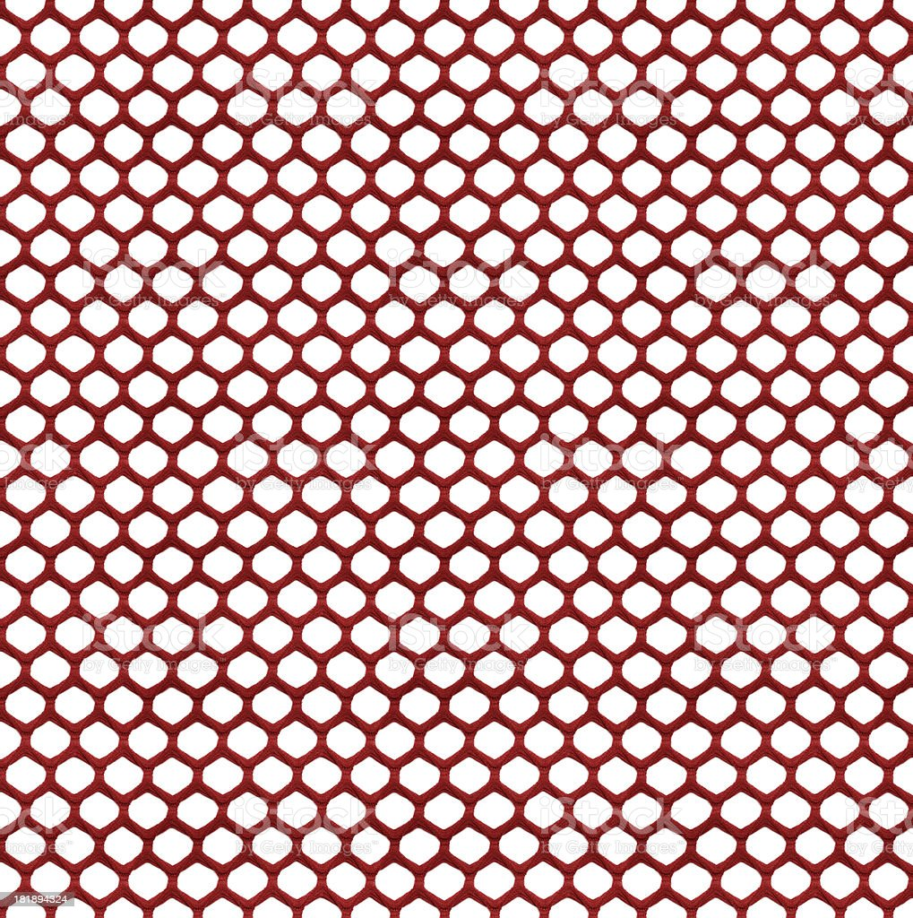 High Resolution Red Hexagon Textile royalty-free stock photo