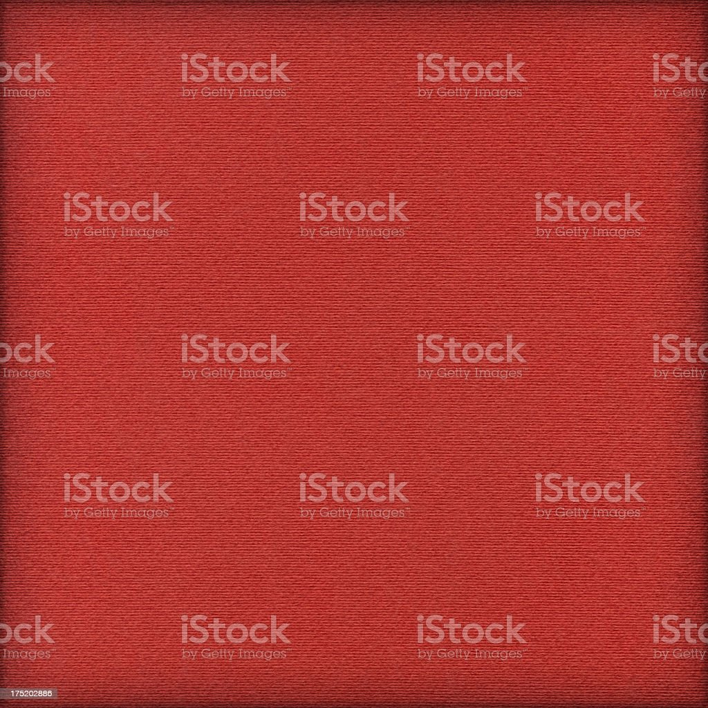 High Resolution Red Striped Pastel Paper Coarse Vignette Grunge Texture royalty-free stock photo