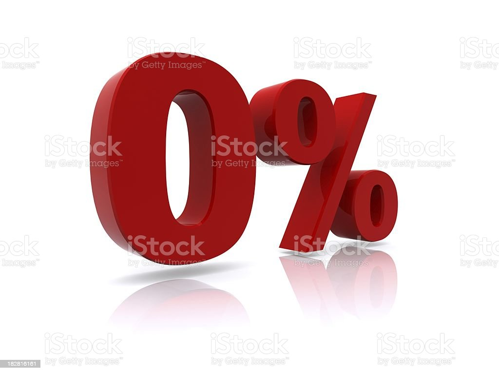 0% high resolution rendering royalty-free stock photo
