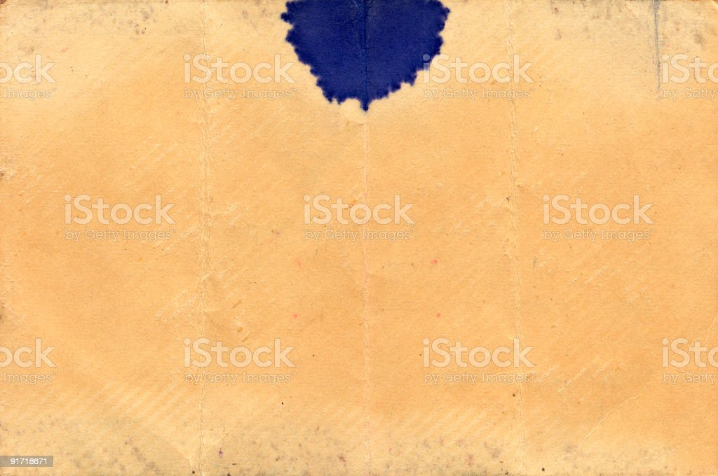 high resolution scan of old paper from the 1960s background royalty-free stock photo