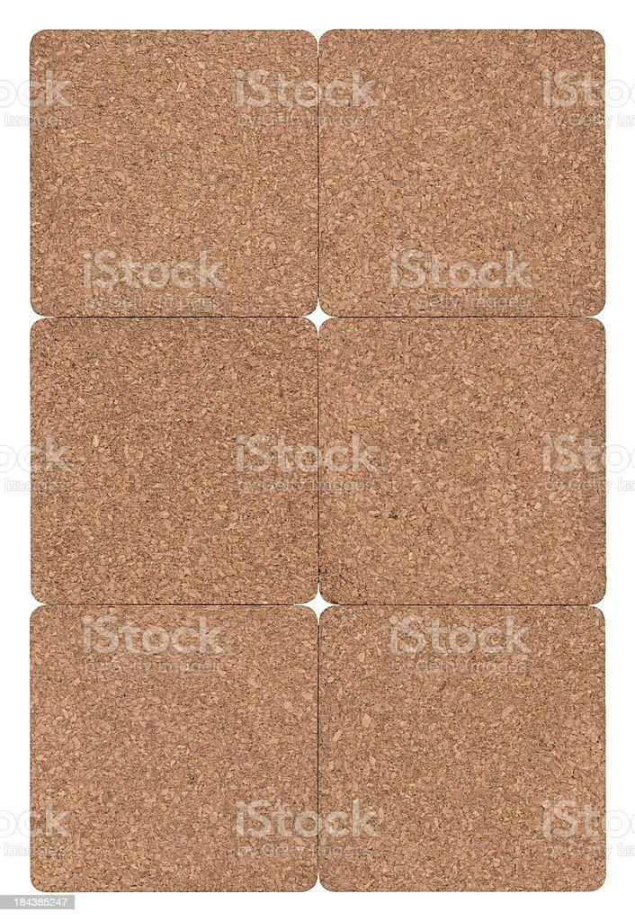 High Resolution Seamless Cork Texture Tile royalty-free stock photo