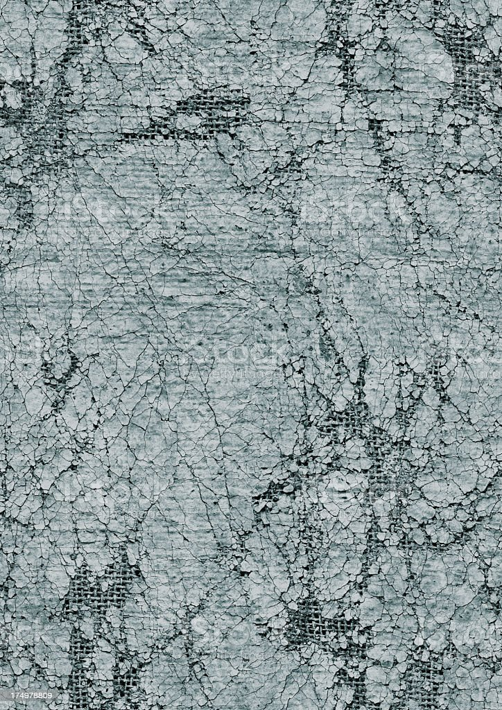 High Resolution Seamless Jute Primed Canvas Crushed Exfoliated Grunge Texture royalty-free stock photo