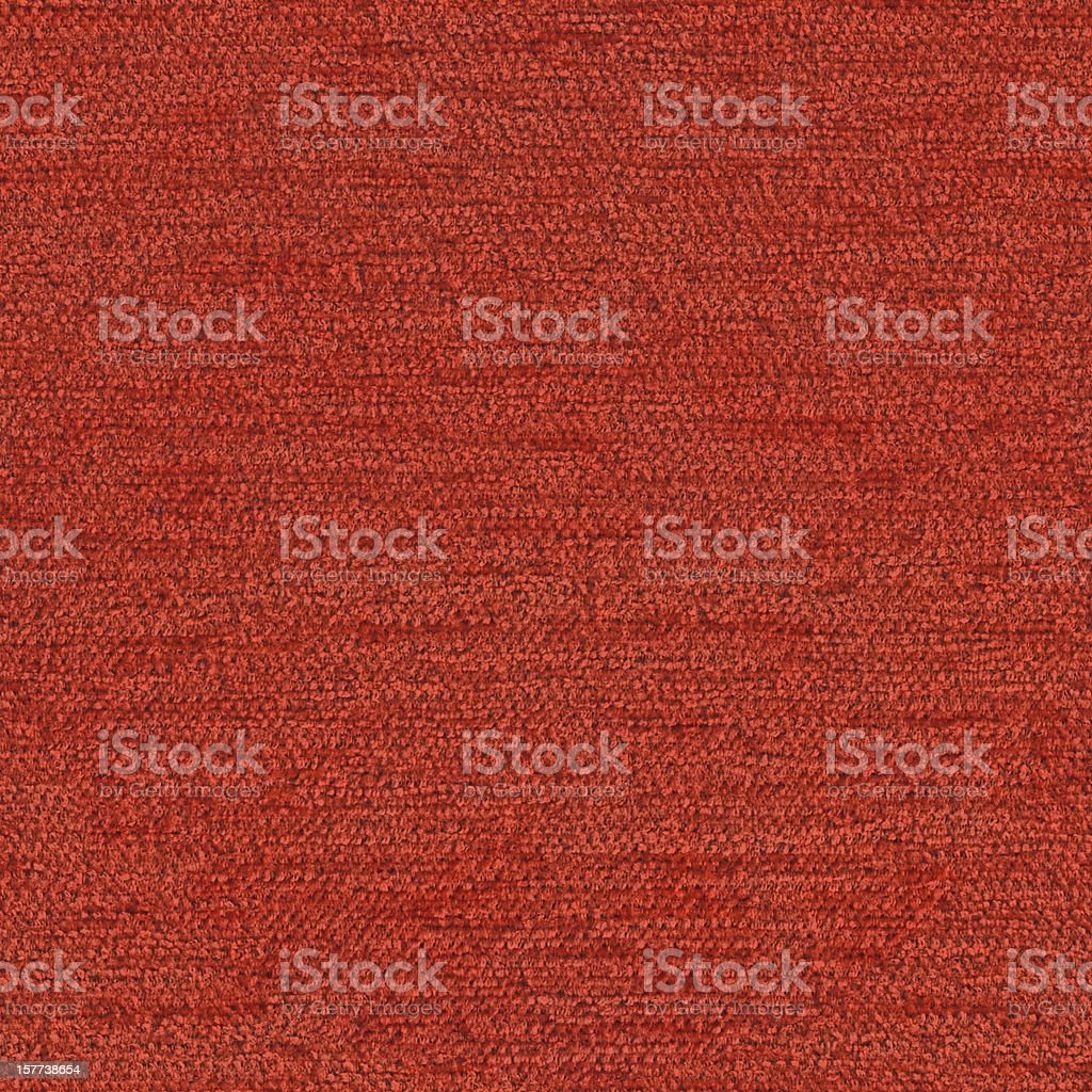 High Resolution Seamless Vermilion Red Acrylic-Polyethylene Upholstery Texture Tile stock photo