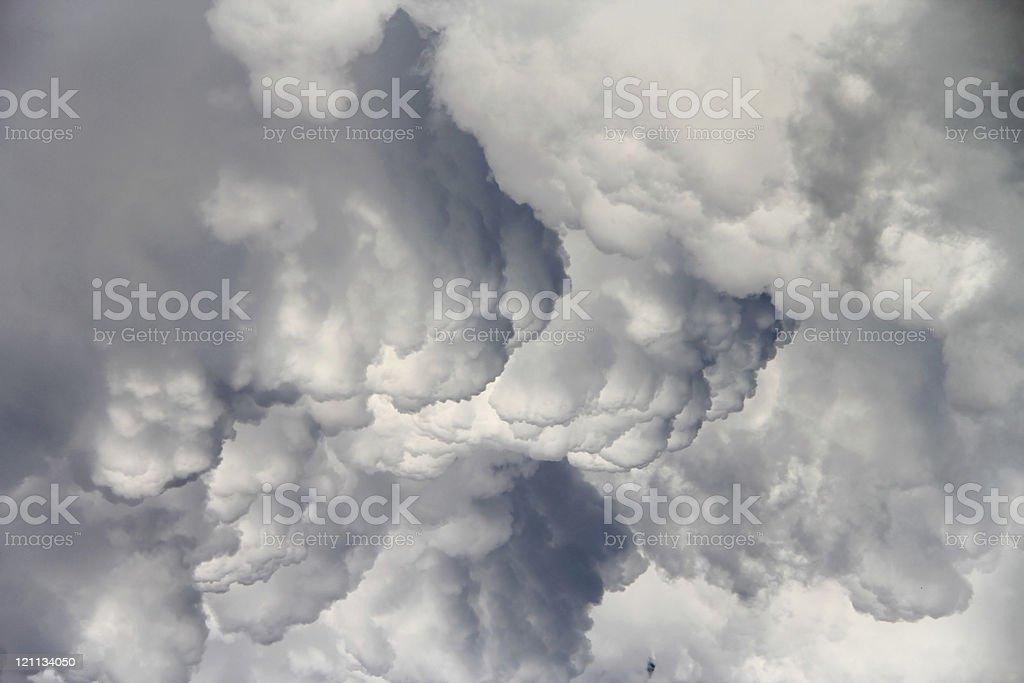 High resolution storm cloud stock photo