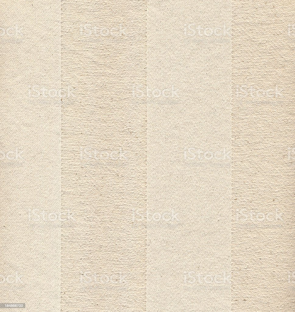High Resolution Striped Beige Textile royalty-free stock photo