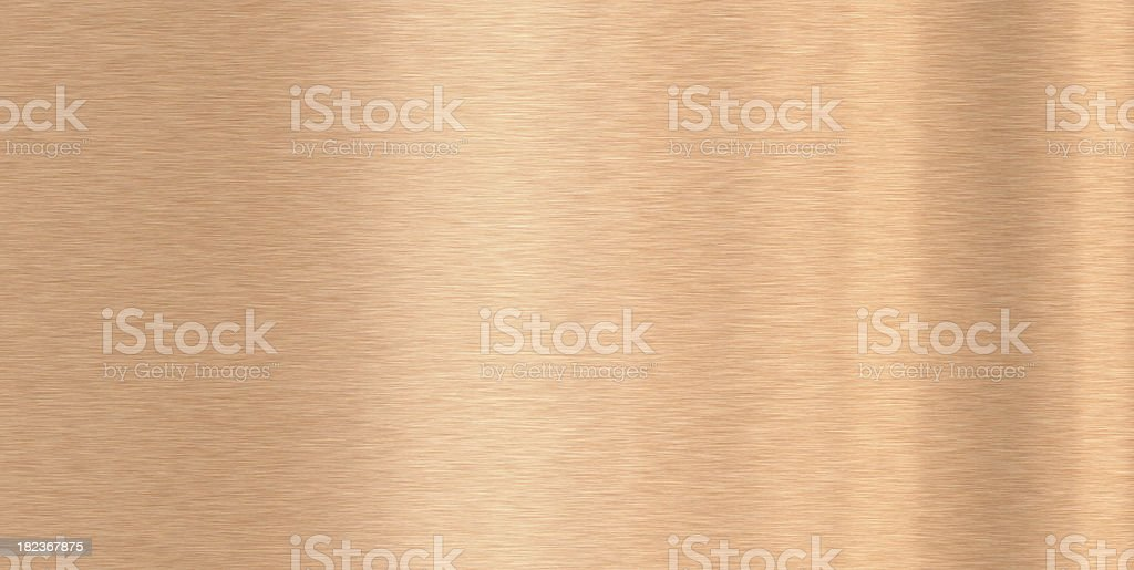 High resolution textured  Copper plate XXXL royalty-free stock photo