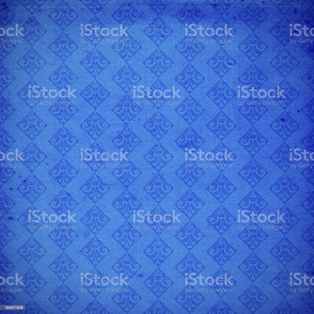 High Resolution Vintage Blue Wallpaper royalty-free stock photo