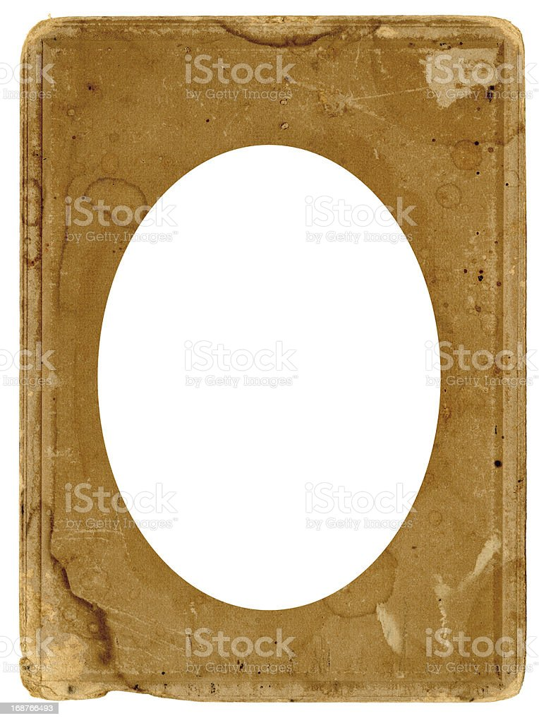 High Resolution Vintage Photograph Frame royalty-free stock photo