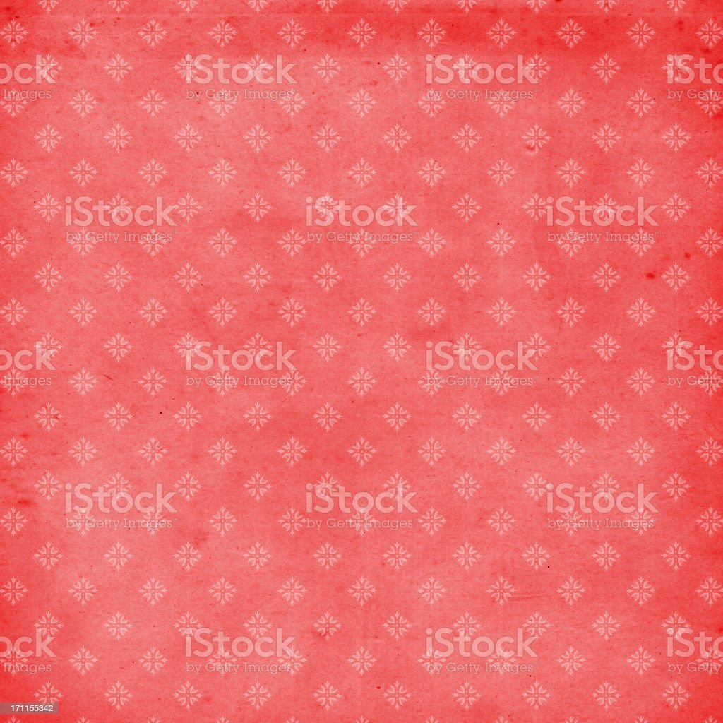 High Resolution Vintage Red Wallpaper royalty-free stock photo