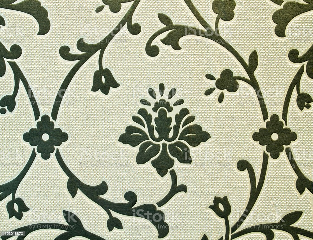 High Resolution wallpaper with floral design royalty-free stock photo