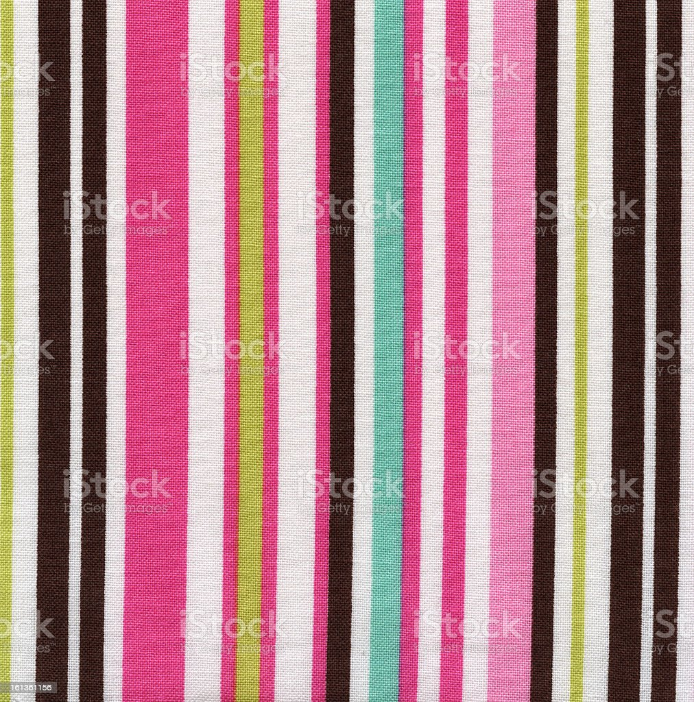 High Resolution White Fabric Colorful Vertical Stripes Texture and Backgrounds royalty-free stock photo