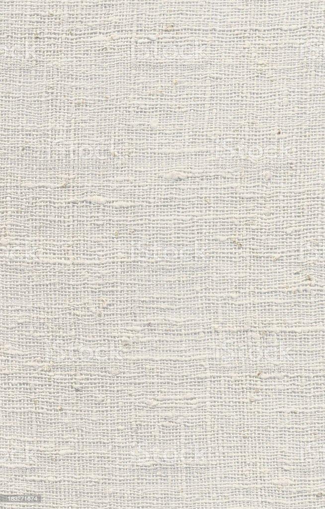 High Resolution White Textile stock photo